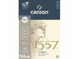 Sketch book Canson A4 (50 papers, 120 g)