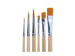 Kolibri set flat and round brushes 8503/8