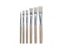 Kolibri Set flat brushes 2001/2-12