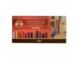 set of artist´s hard chalks Gioconda 12
