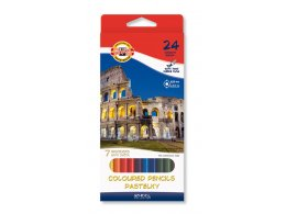 Coloured pencils 24 pcs