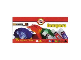 Set tempera paints KOH-I-NOOR 10 x 10 ml